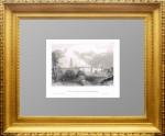 Троице-Сергиевский монастырь. Сергиев посад. 1841г. Старинная гравюра в подарок