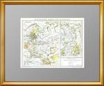 1896_HISTORISCHE KARTE VON  RUSSLAND 1
