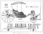 1776 SELLIER CARROSSIER. VIII Calèche en Gondole