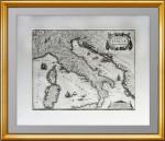 1638 NOVA ITALIÆ DELINEATIO