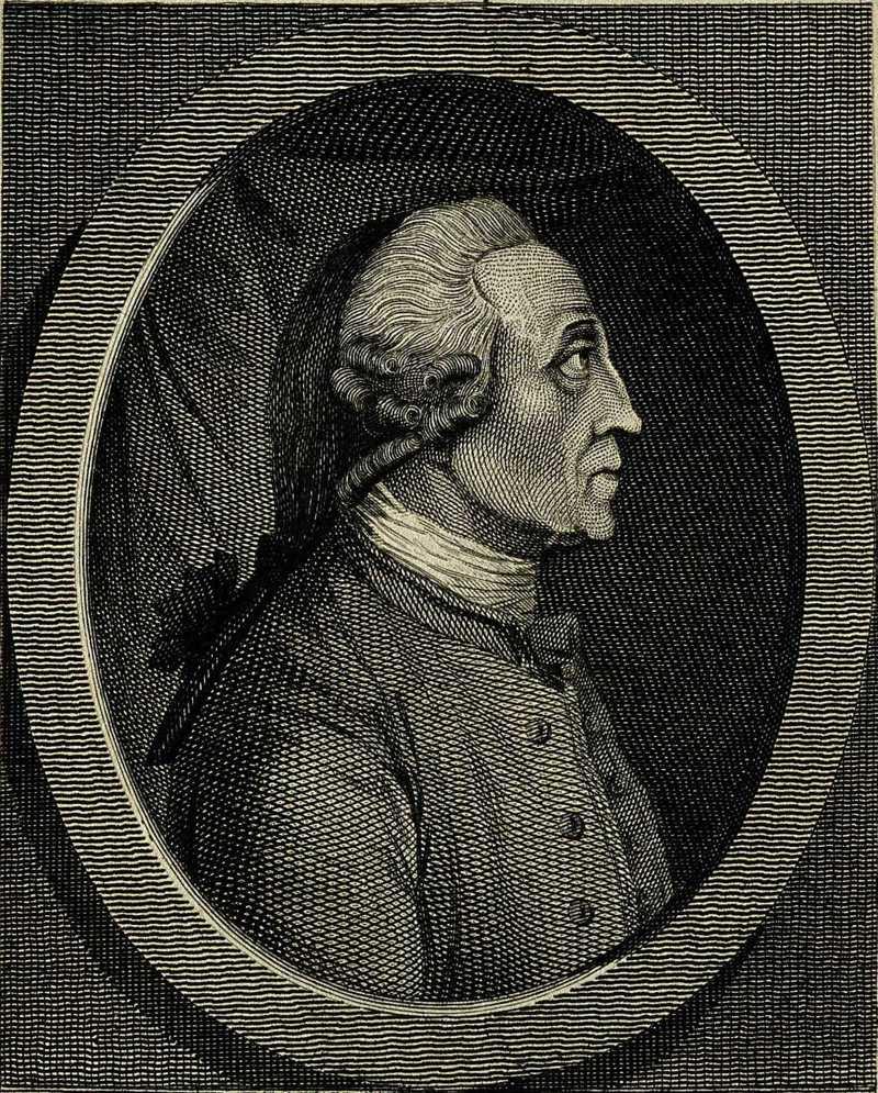 1787 Портрет Йонаса Хануэя. Фрагмент