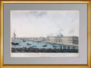 Старинный вид Петербурга ВИП подарок