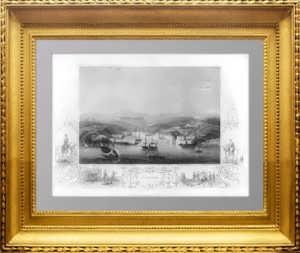 1855г. Севастополь - антикварная гравюра