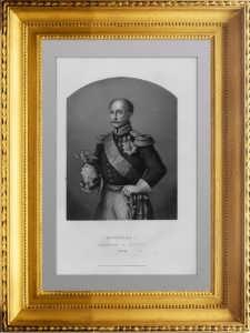 Николай I . Император всероссийский. 1856 г. Райт/Паунд. Антикварная гравюра