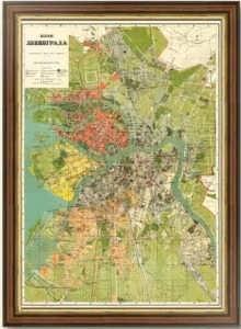 Ленинград. план города. 1927г. Лист 100х72.