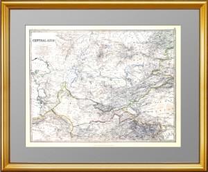 Центральная Азия (Территория современного Казахстана) 1879 г.