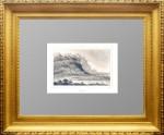 Якутск. 1838г. Леметр. Старинная гравюра, антикварный подарок