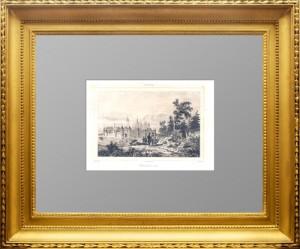 Смоленск в 1611 году. Данвин. 1838г.