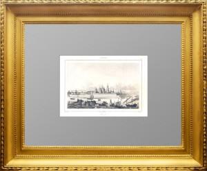 Тверь. Старинная гравюра. 1838г. Данвин