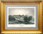 Царицыно в Подмосковье. 1852г. Гравюра. Маер. Универсальный антикварный подарок