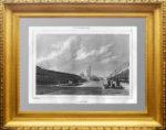Невский проспект. Петербург. 1838г. N70. Старинная гравюра