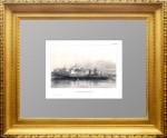 Ипатьевский монастырь. Маерс.1841г. Старинная гравюра