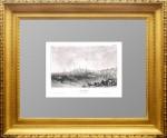 Кострома. 1841г. Старинная гравюра