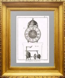Искусство создания часов. Дидро. 1772г. Плата 2. Конструкция будильника. ВИП подарок