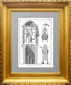 Искусство создания часов. Дидро. 1772г. Плата 3. Маятник и анкерный спуск. ВИП подарок