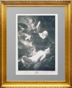 Эрмитажная коллекция. Жертвоприношение Авраама. 1767г. Рембрандт. Эксклюзивный подарок