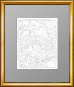 Западная Сибирь, Урал, Казахстан.1838 г. SDUK. Антикварный подарок в кабинет руководителю