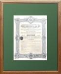 Российский государственный заем 1909 года. Облигация в 187,5 рублей.