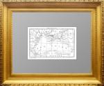 Старинная гравированная карта Чёрного моря XIX века. 1838г. Дювотне