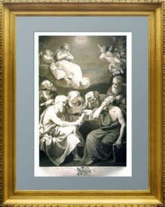 Эрмитажная коллекция. Диспут отцов церкви о вере. 1785г. Рени. VIP подарок