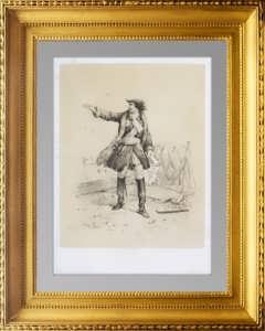 Портрет Рюрика, основателя Российской империи. 1859 год. Адам