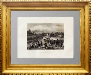 Москва. Наполеон в ожидании ключей от города. 1850г. Шарпантье
