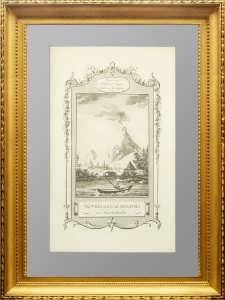 Вулкан Авачинский на Камчатке. 1777г.
