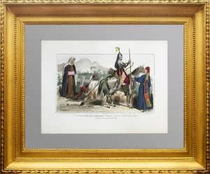 Костюмы народов Рос. империи. Ногайцы и башкиры. 1859г.