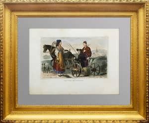 Костюмы народов Рос. империи. Жители Лифляндской губерни.1859г.