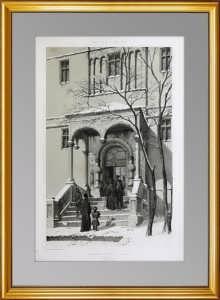 Сергиев Посад. Успенский собор. 1847г. Дюран. Прекрасный VIP подарок