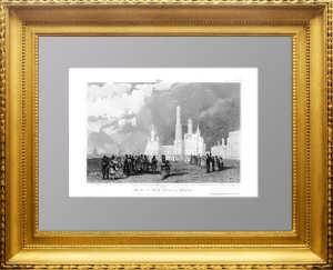 Колокольня Ивана Великого. 1859г. Lhuillier /Викерс. Москва. Антикварный подарок