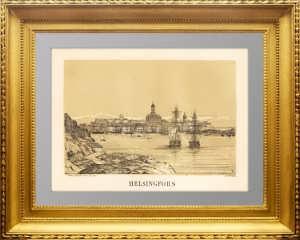 Российская империя. Хельсинки. 1854г. Странски. Старинная литография, антикварный подарок