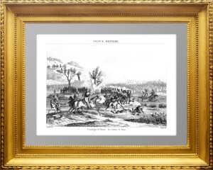 Война с Наполеоном. Сражение за Париж. 1839г. Martinet/Reville