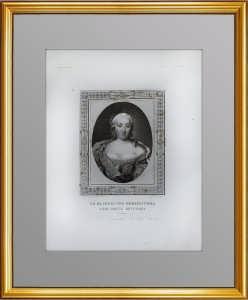 Елизавета Петровна Романова. 1817-24гг. Беннер/Мику.  Антикварный подарок