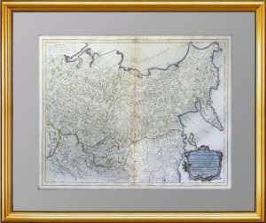 Российская империя. 2. Восточная часть. Вогонди/Сантини. 1776-1784гг. Музейный ВИП подарок