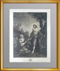 Эрмитажная коллекция. Явление Христа Марии Магдалине. 1781г. Кортона.  Музейный экземпляр