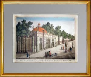 Павильон «Грот» в Летнем саду Петербурга. 1780г. Кармине. Антикварный ВИП подарок