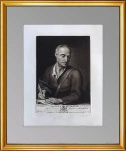 Эрмитажная коллекция. Портрет Каррерасa. 1788г. Кнеллер/Грин. Музейный экземпляр.