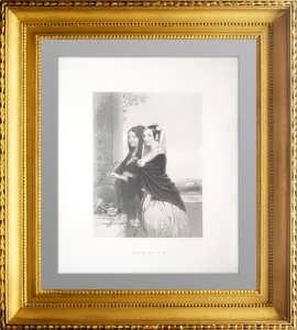 Модеста и Ванита. 1840г. Хикс/Пейн