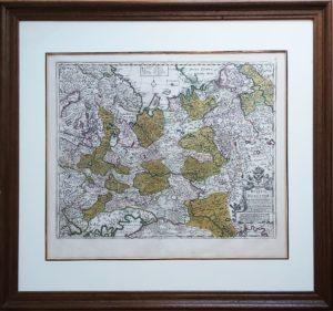 Imperii Russici Sive Moscoviæ... 1707г. Музейный экземпляр. Антикварный VIP подарок партнёру