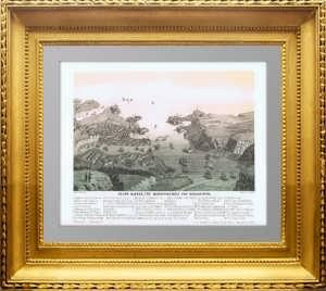 Севастополь: город, гавань и укрепления. 1850г. Оригинальная  литография