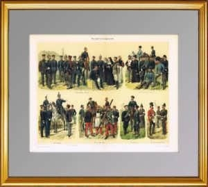 1897г. Военно-медицинская служба. Униформа. ВИП подарок врачу в кабинет