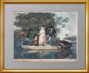 Общество на рыбной ловле. 1789г. Китинг по Морленду. Эрмитаж. ВИП подарок