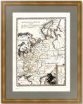 Генеральная карта Российской империи в Европе.(1) 1789г. Антикварный подарок