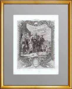 Похищение Елены. 1781г. Гвидо Рени/Маскилье