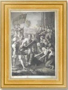 Падение Христа на пути к Голгофе. Рафаэль Санти / Чарльз Шулер. 1850 (ок.)