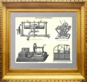 Электромагнитные двигатели. 1896г. Антикварный подарок энергетику