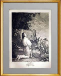 Эрмитажная коллекция. Блудный сын. 1767г. Роза. ВИП подарок музейного уровня