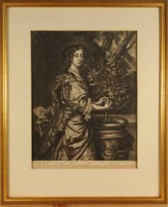 Элизабет Монтегю. Портрет. 1680г.
