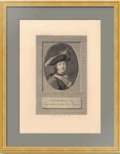 Екатерина II. Императрица. 1788г. Эриксен/Фесейе. Старинная гравюра. Музейный экземпляр